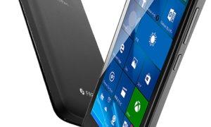 フリーテル katana01 Windows10スマホ 11月30日発売 12,800円