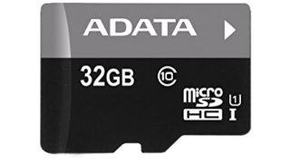 何枚持っていても困らないmicroSDカード32GB 1,080円