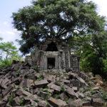 美しい緑の遺跡「ベンメリア遺跡」