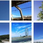 曇っている日でも #青空 で気分を変える