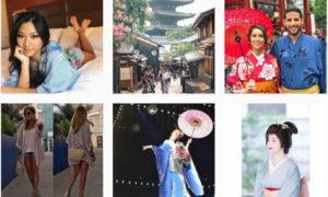 着物ではなく #kimono で探す