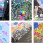 色いっぱい #カラフル傘