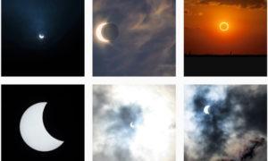 世界の #金環日食 Annular solar eclipse