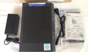 フレッツ光ネクストギガファミリーに変更 ホームゲートウェイ ひかり電話ルータ (PR-500MI) の初期設定