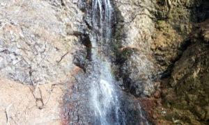 大仙の滝 天狗の足跡