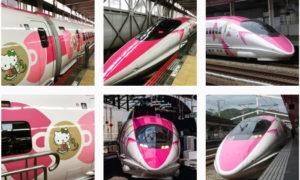 一度見たら忘れられない #ハローキティ新幹線