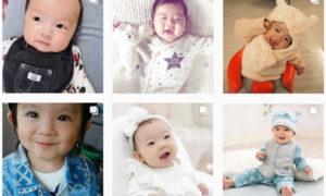 赤ちゃんが良く笑うベビー服 #コンビミニ