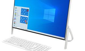一体型パソコン ESPRIMO WF1/D3 ホワイトを使ってみた